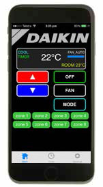 daikin air conditioning app for smartphone